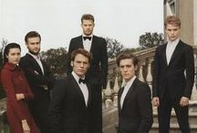The Riot Club / A collection of gorgeous pictures of the very talented cast of Lone Scherfig's The Riot Club, out now on DVD.