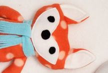 Crafting // DIY: Sewing // Stuffed Animals / by Charlotte Janssen