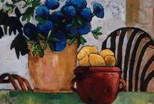 3.7. ART. Painting. Still life. Flowers.