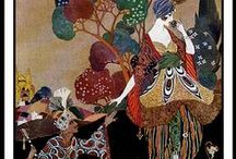 7.10. ART.  Artist. Georges Barbier. / French painter, designer, fashion designer and illustrator George Barbier (1882-1932), is one of the largest plots of the first third of the XX century.