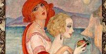 7.12. ART.  Artist. Gerda Wegener (1886-1940), Danish. / Gerda Wegener, ur. Gerda Maria Frederick Gottlieb (March 15, 1886, Jutland - 1940, Frederiksberg) - Danish painter and graphic artist, main subjects - portraits and erotica.