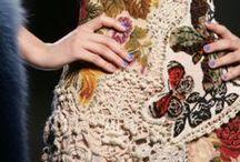 13.2. Knitwear. Crochet + fabric.