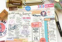 Crafting // DIY: Art Journal/Mix Media 4 / by Charlotte Janssen