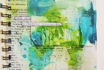Crafting // DIY: Art Journal/Mix Media 5 / by Charlotte Janssen