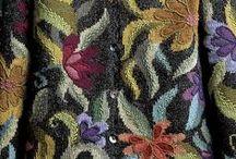 12.3. Knitwear. Flowers. Roses.