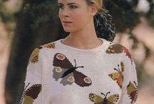 12.4. Knitwear. Butterflies. Birds.