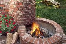 Inspiration - BBQs and Firepits / Brick BBQs and firepits, for your summer inspiration