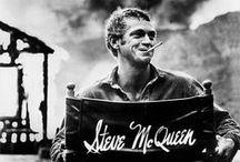 Steve McQueen / Les photos introuvables de Steve McQueen prises au printemps 1963 avec sa femme, dans leur maison.  Photo John Dominis