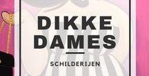 Dikke Dames / Het schilderen van Dikke Dames. Deze workshop kun je volgen bij Artpub.nl.   Workshop   Schilderen   Kunst