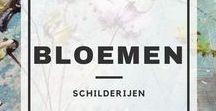 Bloemen / Bloemen   Schilderij   Kunst   Art   Flowers   Artpub.nl