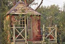 ♥ playhouse garden