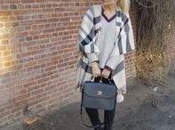 Fashion   Poncho / Poncho - Modetrends, Fashion und Inspirationen für das perfekte Outit, Kombis und 'How to Wear'
