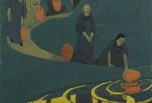7.13. ART.  Artist. Paul Serusier (1864-1927, France).