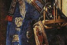 1.3. TREASURES. ART. Historical costume. Fragment.