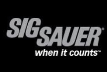 Sig Sauer / SIG SAUER® world renowned firearms are the weapons of choice for many of the premier global military, law enforcement and commercial users. High quality, ultimate reliability and unmatched performance have always been hallmarks of the SIG SAUER brand. In the USA, nearly 1 in 3 law enforcement professionals use SIG SAUER firearms.
