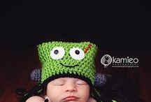 crochet / by Crocheted Critter Hats & More...