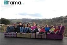 6º Concurso de fotos: Fama, sofás para disfrutar en casa. / Fotos pertenecientes al 6º concurso de Fama, sofás para disfrutar en casa. Los participantes nos muestran su rincón de relax y descanso junto a su sofá.