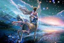 Soul Astrology & Zodiac Sign watching / Beautiful images expressing the evolution of our souls