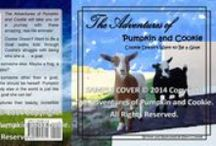 """Adventures of Pumpkin and Cookie / Enjoy these adorable, intelligent and hilarious baby Nigerian Dwarf goats as they live life with excitement, curiosity and love! """"The Adventures of Pumpkin and Cookie"""" is brought to you by Silly Sherri Productions: www.SherriConnell.com."""