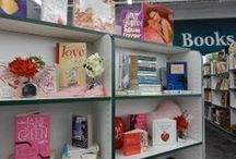 Dazzling Displays: Valentine's  / Red, white and hearts all over at Goodwill Tulsa