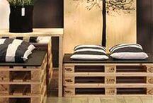 Sofás, sillones, sillas de palets / Sofás, sillones, sillas y bancos realizados con palets