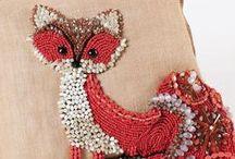 Käsin ompelu ja erikoislankatekniikat / Handcraft inspiration, special tecnigues, embroidery and hand stitching.