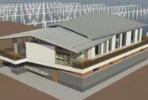 - Project HavenKantoor - / Aan de nieuwe haven word het oude gebouw afgebroken. Een nieuw gebouw geeft de Gooishe haven allure. Bouw start Febr 2015 door Koop en Partners.