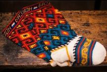 tricoter des chaussettes en jacquard , socks knitting , / socks patterns   modèles de chaussettes sukat