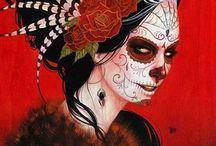 Art: Día de Muertos / Chicano