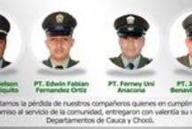 Nuestros Héroes / Todos aquellos hombres y mujeres que en el cumplimiento de su deber dieron la vida o resultaron afectados.
