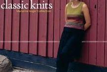 magasines et  livres de tricots en angiais, knit books , issue / à regarder sur les sites de partage