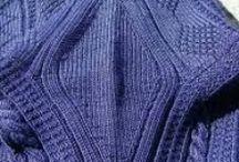 tricot gansey knitting / tricot gansey
