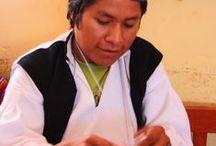 tricot  Andes   Pérou    knitting / les tricots au Pérou , peruvian knitting