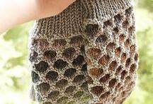 tricot technique mosaic knitting / mosaic knitting slip stiches  une technique : le tricot mosaîque ( mailles glissées)