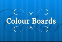 : Board Colours : / A collection of Colour typography to head your Boards with, take your pick!