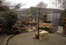 Raised vegatable garden makeover / Our garden makeover from wasteland to wonderland