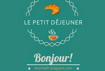 Language: Français / Схемы и таблицы для изучения французского языка