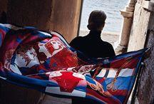 Fashion: Hermès / Платки Эрмес - произведения искусства, которые можно передавать по наследству.