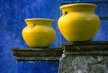 : poetic☚Morocco : / Bibbity Bobbity Boos of Everything in Blue/Yellow & Gold Combos.