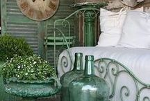 : sonnet☟Green : / Tickety Boos of Everything in Shades of Green Home Combo.
