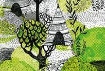 : poetic☚Goblin : / Bibbity Bobbity Boos  of Everything Green/Blk & White Combo.