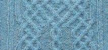 grille : aran irlandais / torsades , cables knitting