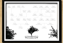 Custom Family Tree Designs / A few of our ancestry artworks: