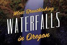 Oregon Waterfalls ♥  / Beautiful Oregon Waterfalls  / by ( Portland And Oregon )