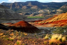 Oregon Desert ♥  / Beautiful Oregon Desert ~ Oregon's remote high-desert country is a little-known and remarkably diverse region that covers nearly one-quarter of the state. / by ( Portland And Oregon )