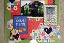Front Porch Kits / This unique kit is a wonderful blend of fabulous papers, fun embellies, tons of textiles and charming, one-of-a-kind treasures! It is a kit full of creative possibilities! When you purchase your kit you will also receive a BluePrint Guide. This Guide will include step-by-step instructions on how to create some unique projects from your kit..It features a colorful palette, perfect for creating unique projects and preserving your memories!