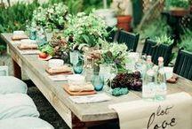 Farm Dinner / Ideas and inspiration for farm dinners