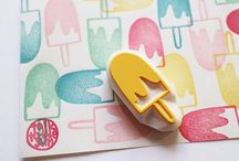 Stempel / Stamps / by Andrea Shafer
