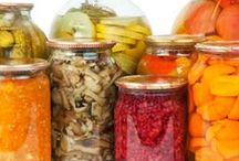 Fermented Favorites / Fermented foods are foods that have been through a process of lactofermentation in which natural bacteria feed on the sugar and starch in the food creating lactic acid. This process preserves the food, and creates beneficial enzymes, b-vitamins, Omega-3 fatty acids, and various strains of probiotics.