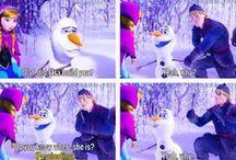 FROZEN love Olaf